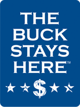The Buck Stays Here